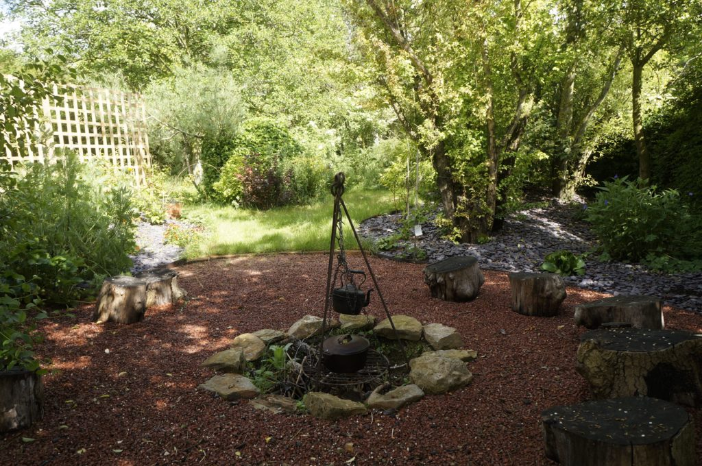 The Fire Garden - perfect for singing and chanting sessions